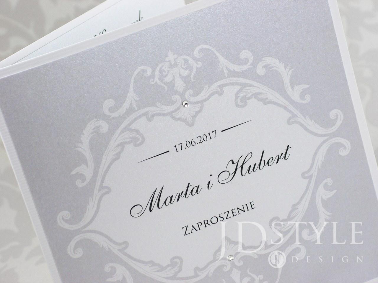 Prestiż i elegancja na zaproszeniu ślubnym