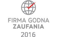 Firma Godna Zaufania - certyfikat